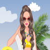 surfer girl dressup A Free Dress-Up Game