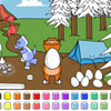 Color Games - Easter Dinosaurs A Free Customize Game