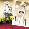 Lady Gaga Red Carpet Dress-up