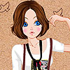 Hilary girl Dress up Game.