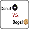 Donut Vs. Bagel