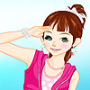 Amelie girl Dress up A Free Customize Game