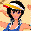 Sporty girls dressup game