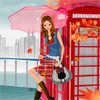 Waiting Phone Girl Dressup game