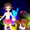 Bella and cute teddy bear A Free Dress-Up Game