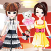 double dress, double the fun! in this cute twins dress-up game