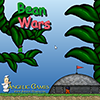 Bean Wars is a turn based multiplayer fighting game. Each team has three members. You have 20 seconds for each turn. The first team to eliminate all of the other team`s characters wins the round.