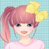 Cute pajamas dress up game