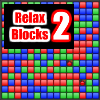 Relax Blocks 2 is a block breaking, match two, puzzle game now with five modes: Standard Mode – your regular blocks breaking game, where you must clean all blocks to proceed to the next level. Bomb Mode – the same as Standard Mode, but you can use two bombs per level. Its a lot easier to clean the final, trickiest blocks. Time Mode – you have limited amount of time. You can get time bonuses through the clocks or by breaking large amount of blocks.  Fill Mode – don't let the blocks reach the top.  Relax Mode – daily stress reliever.