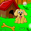 Playful Puppies Coloring Page A Free Dress-Up Game