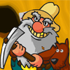Happy Old Miner A Free Puzzles Game