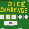 The purpose of the game is to make many points with dice combinations before you lost all your lives. At Dice Challenge you start the round with 6 dice. After each throw all the possible combinations are shown. Each combination is with a certain number of points. The corrensponding dice of a game get locked and the player can throw the dice again. If no combinations are shown, you will lost a life.