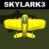 Skylark 3: fly a plane, shoot aliens & other foes, collect coins. A nice classic arcade!