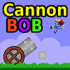 CannonBob is a mouse-driven game in which the objective is to set up a cannon - changing its position, angle and power - to launch a human cannonball and burst as many balloons as possible. There are 25 levels of increasing difficulty, each with the aim of achieving a target score by setting up the perfect shot.