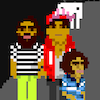 Who`s that Brooown is part music video, part game.  Help Kool A.D. and Heems find their hype man and get to show before the end of the song by playing through six mini-games based on classic games.