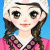 Girl Wearing Korean Costumes A Free Dress-Up Game