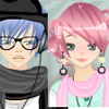 Anime couple dress up game