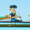 The player needs to target the fishes in the see and attack those fishes throwing arrows towards them.  If you kill big fishes you will get a high score. So you have 30 arrows to kill the fishes and on 2 minutes. Become a fisher kid and kill as many fishes as possible.