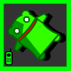 Happy Green Robot MOBILE