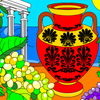Greek Amphora Coloring