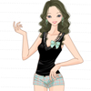 Charming Girl A Free Dress-Up Game
