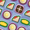 A great new game from I Can`t Believe it`s Not Butter! A mash up of bejewelled and collapse! Click the connected icons to beat the clock to score as many points as you can!