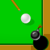 Try to clear the pool table before the time runs out. Using your mouse aim the cue ball where you would like it to go. Control your shot power by holding down the mouse. Try to beat all 10 levels!