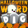 Halloween Word Dig A Free Puzzles Game