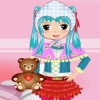 The girl Amanda is really cute.Dress her up with all the clothes and accessries.Let her be a cute doll!Really fun!