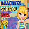Talented School Girl A Free Education Game