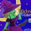 Wicked Midnight Coloring Dress Up