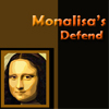 """The player should protect the Monalisa paintings from the thieves by fighting with them. Use arrow keys and keys """"A"""",""""S"""" to attack the thieves. Game ends when you lose the strength."""