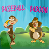 The player first should choose either of the baboons and enter into the game. To make the baboon hit the banana first click to get ready and second click to hit the banana. If you can target the banana and hit so that the banana can fall at some distance that counts as a score. If banana hits eggs in between you will get a little boost. The baboon has only six chances to hit the banana and get the best score.