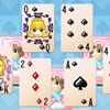 Classic Solitaire card game. Play away all cards on the playing field.
