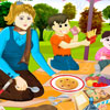 Picnic Hidden Alphabet Game For Girls