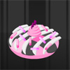 Freely mess around with materials you can mix and match to create unique donuts.