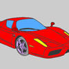 Nice car coloring game