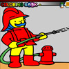fireman coloring game