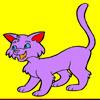 cute cat coloring game