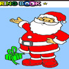 nice Santa Claus coloring game A Free Customize Game