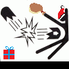 Stick Figure Smash (Christmas Edition) A Free Action Game