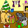 Doggy Christmas Coloring A Free Other Game