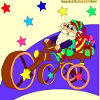 Kid`s coloring: Christmas bustle is free coloring game.