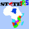 Statetris is an interesting game mixing aspects of the popular game `Tetris` and geography. Instead of positioning the typical Tetris blocks, you position states/countries at their proper location.