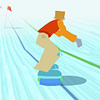 Snowboard A Free Action Game