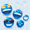 Funny Blue Memory A Free Education Game