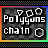 Polygons chain A Free Action Game