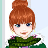 Little miss Winter dress up game