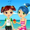 Two Sisters On Vacation A Free Dress-Up Game
