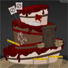 Whimsically Twisted Cake - Crime Scene